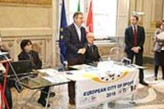 Pisa citta' europea dello sport