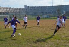 Partita fra la squadra di calcio dei detenuti e la formazione Comune-Uisp