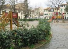 Area giochi di Piazza Tasso a Firenze