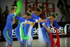 Campionati italiani pattinaggio artistico. Foto Antonello Serino
