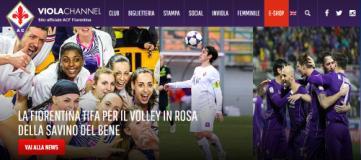 Scambio di maglie tra Fiorentina e Savino Del Bene