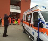 Inaugurazione della nuova ambulanza della Pubblica Assistenza di Tavarnuzze
