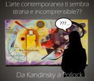 Invito alla visita nella lingua dei segni alla mostra 'Da Kandinsky a Pollock...'