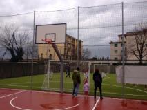 nuovo manto erboso del campo di calcio a sette a Ponte a Greve (Fonte Foto Facebook)