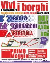Manifesto della manifestazione 'Vivi i borghi'