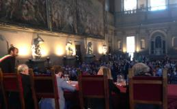 Festa dell'atletica in Palazzo Vecchio