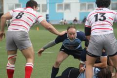 Bottacci e Antonelli a presidiare un punto d'incontro - Ph. Pro Recco Rugby