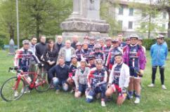 Foto di gruppo a Montepiano