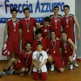 La squadra under 20 del Montemurlo Basket