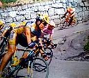 Simone Borgheresi e Marco Pantani