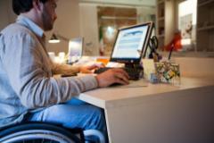 disabile al lavoro