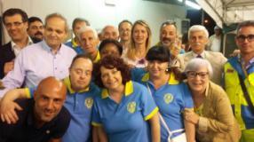 Foto di gruppo per la Misericordia di Spicchio e Sovigliana