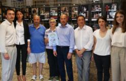 Partecipanti al rinnovo della convenzione per il pulmino sociale di Vaiano