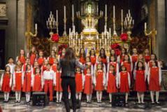 Il piccolo Coro Melograno in concerto alla Santissima Annunziata