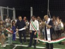 inaugurazione impianto sportivo di Montagnana