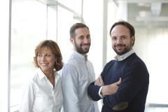 Patrizia, Guido e Niccolò Biondi