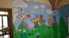 Murales interno CIAF