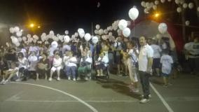 500 palloncini hanno volato per  Avis