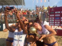 Le atlete della Savino Del Bene Campione d'Italia