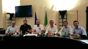 Assesore Vannucci con i predsidenti dei quartieri