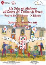 Manifesto della Festa Medievale di Brozzi