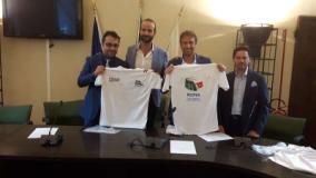 Corsa per promuovere la candidatura di Roma 2024 - fonte Comune di Firenze