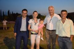 Andrea Vannucci, Eugenio Giani, Alessio Piscini.