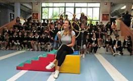 Nelle classi quarte della scuola primaria G.P.Meucci Chiara Tabani