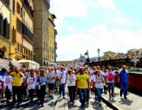 Camminata sull'Arno
