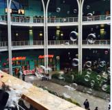una precedente manifestazione che si è svolta al centro commerciale