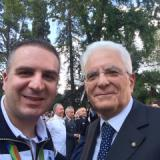 Marco Innocenti ricevuto dal presidente della Repubblica Mattarella