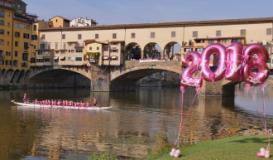 Dragon Boat sotto il Ponte Vecchio