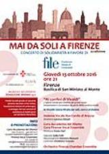 locandina concerto per FILE