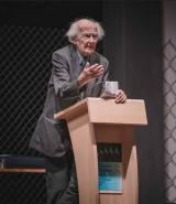 Zygmunt Bauman al Festival delle generazioni (Foto Michele Monasta