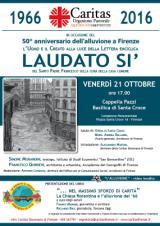 Locandina iniziative Caritas sull'Alluvione
