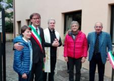 Il sindaco Pescini all'inaugurazione della nuova sede per i volontari Anteas