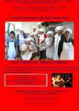 """Tutti insieme con """"Risate e Polpette"""" con gli InSuperAbili, alle 13 di domenica 13 novembre a Grassina"""