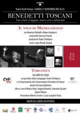 Manifesto dello spettacolo 'Benedetti Toscani'