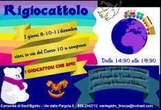 Torna a Firenze 'Il Rigiocattolo' giovedì 8, sabato 10 e domenica 11 dicembre