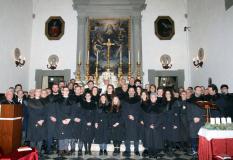 Vestizione dei nuovi confratelli della Misericordia di Prato
