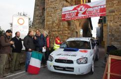 Un'immagine della scorsa edizione del Rally della Fettunta
