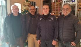 Marco Innocenti con Aldeehani, Daniele Cioni, Giuseppe Forastiero