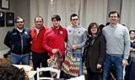 La consegna del premio Best of Match Filippo Cantoni a Duccio Cosi e Andrea Martani