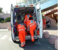 Soccorso con ambulanza (ph sito regione)