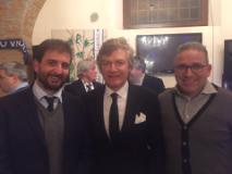 Antognoni con Forastiero e Nicola Ciolini