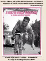 Locandina iniziativa ' A ruota della passione'