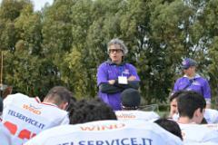 L'Head Coach dei Guelfi Firenze Matteo Dinelli