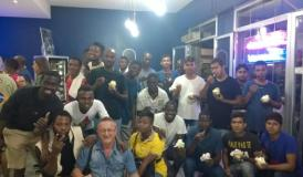 Foto di gruppo al  CoeSo Empoli