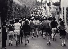 Maratona nel Chianti Classico negli anni '70