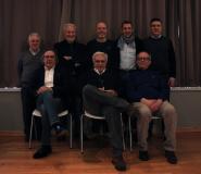 Foto di gruppo per il Comitato regionale Fipav
